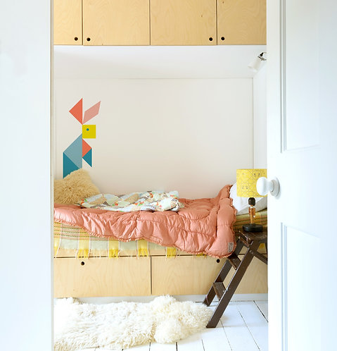 Tangram Wall Stickers