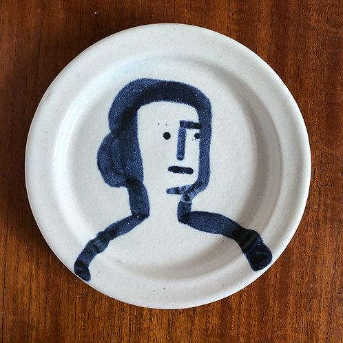 WOMAN PLATE