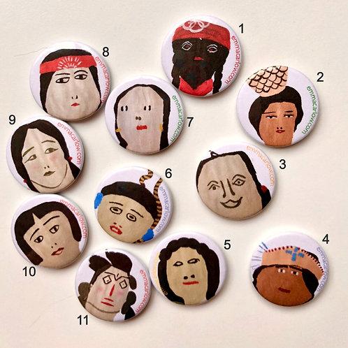 Doll Badges