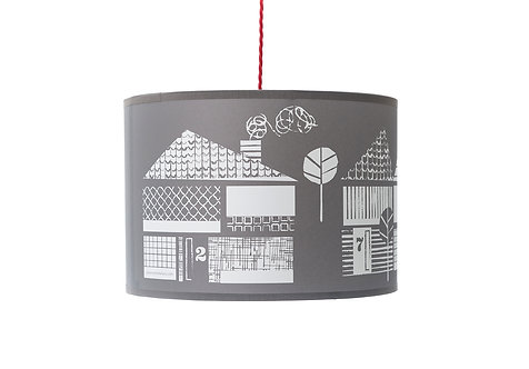 Up My Street lampshade