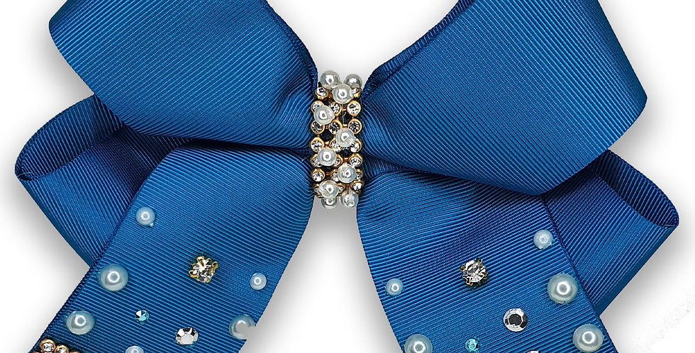 Laço Azul Turquesa Luxinho