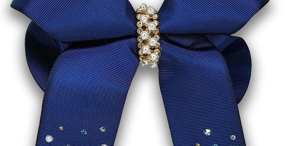 Laço Luxo Azul Marinho