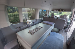 Inside Rikian Exerciser Mobile Unit For  Party Events