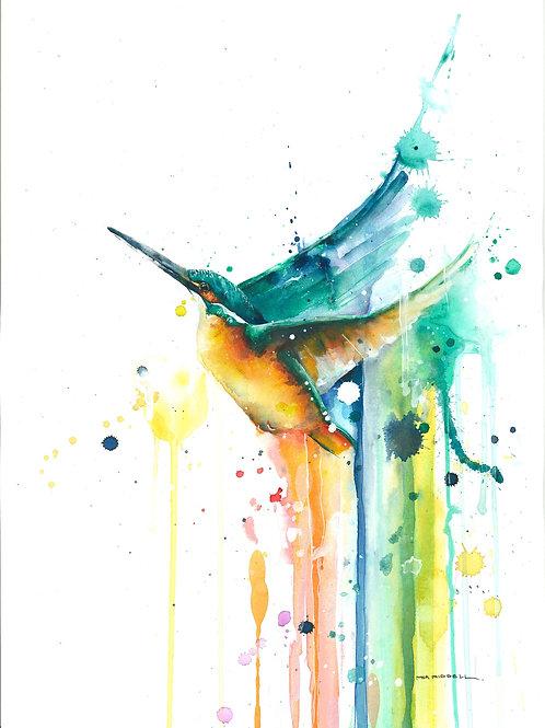 Whaikorero/Kingfisher By Mia Riddell