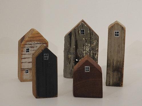 Tiny Houses set of 5
