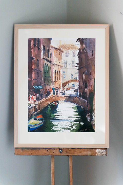 Conversation in Venice by John Keith Reed