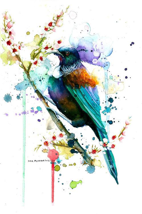Tui Print By Mia Riddell
