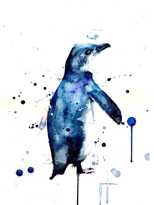 Little blue Penguin/Korora By Mia Riddell