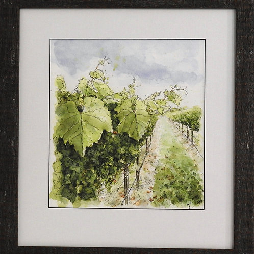 Saint Clair Vines No 1 by Sarah Higgins