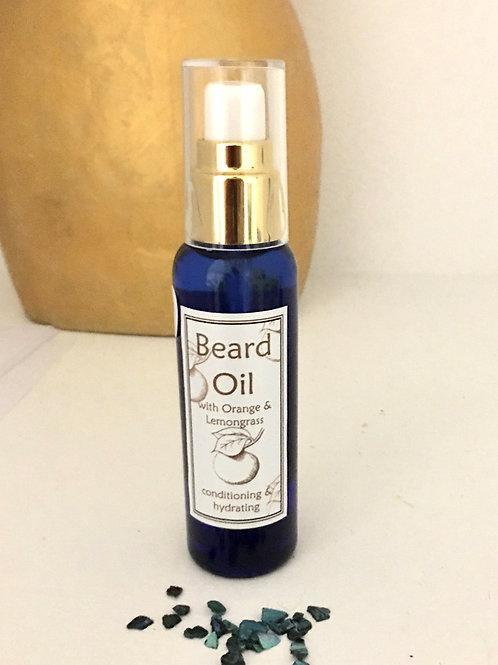 Orange & Lemongrass Beard Oil