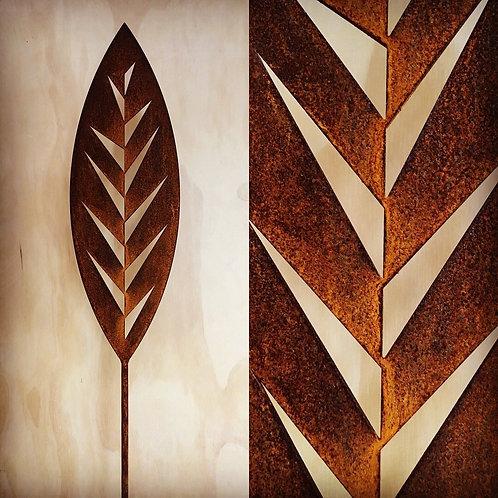 Corten Steal - Leaf