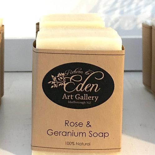 Rose & Geranium Soap