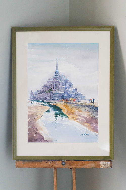 Mont-Saint Micheal by John Keith Reed