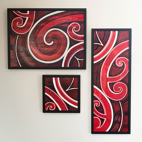 Koru Series by Tui Johnson