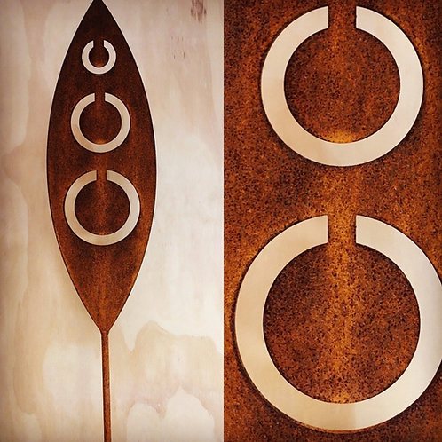 Corten Spear - Tribal