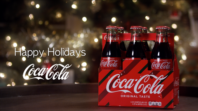 "COCA-COLA ""Home For The Holidays"""