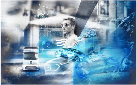 Daimler AG, image advertisement #Future