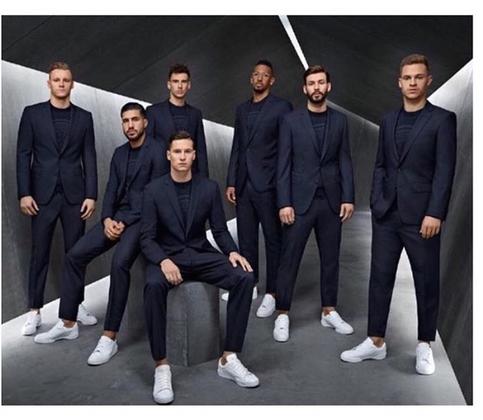 Deutsche Nationalmannschaft für Boss