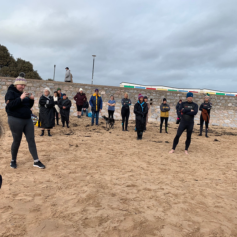Exmouth Sunday dip    NEW TIME FOR THE SUMMER