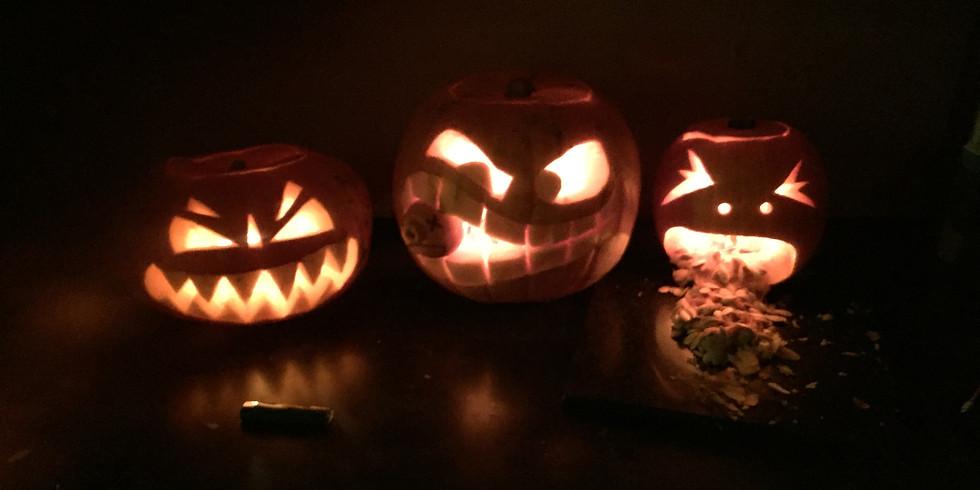 Halloween evening dip