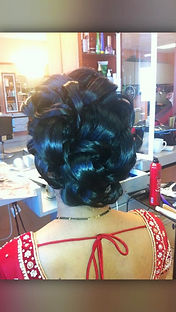 hairstyle style updo
