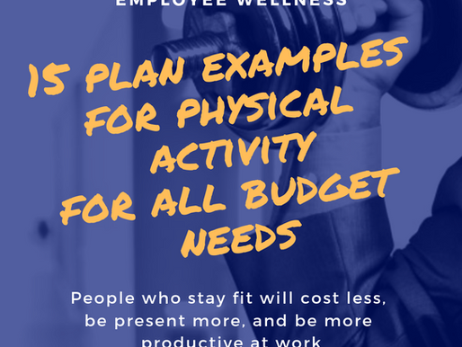 Corporate Wellness Program Examples For Any Budget