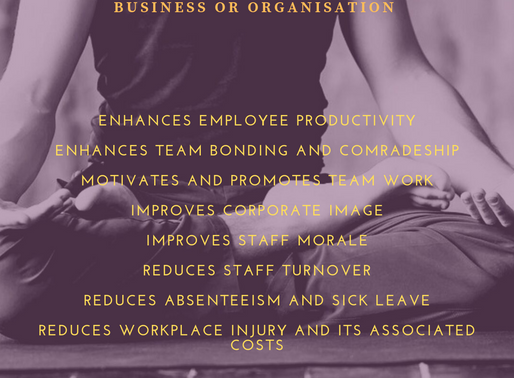 Wellness Programs Benefits To Your Business or Organisation