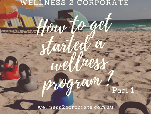 How to Get Started a Workplace Wellness Program. Part 1 (Elements Choice)