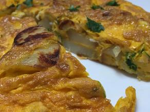 Tortilla de Patatas and Pinot Noir-Domaine Remy & Fils