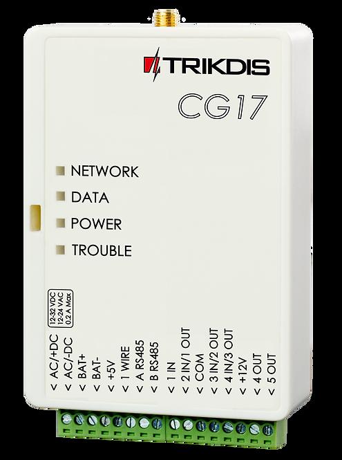 TRIKDIS valvesüsteemi keskseade / Security moodul TX-CG17 seeria