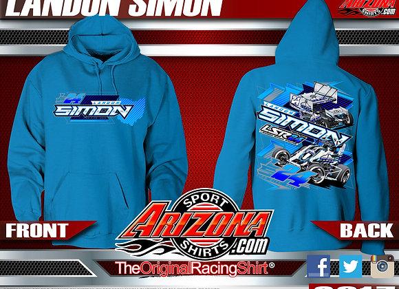 Sprint Car hoodie - Blue