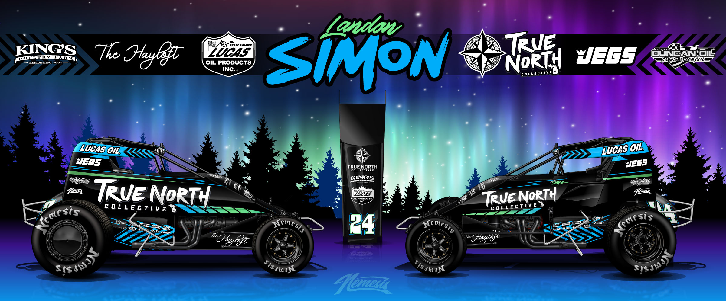 LANDON SIMON INKS DEAL WITH TRUE NORTH COLLECTIVE