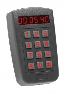Rosslare AY-F66 Outdoor PIN & Proximity Reader with Time/Date LED Display