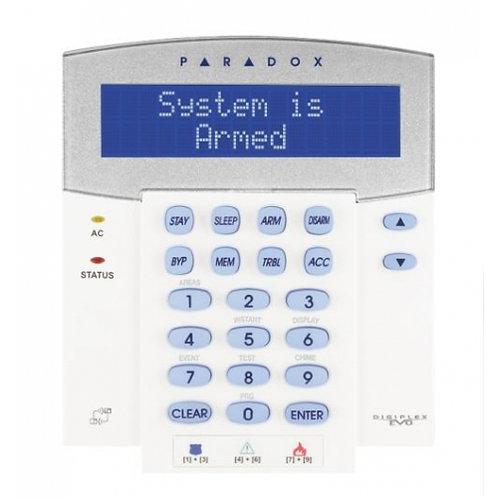 Paradox klaviatuur/sõrmistik K641R LCD