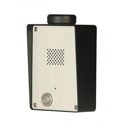 Juhtmevaba GSM fonosüsteem ühe nupuga SOLO-NX 1/S INOX 3G