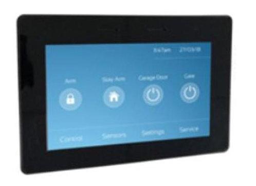 "Klaviatuur Crow KX-KP-Touch-B (5"" Touch Screen mustas raamis, 800×480)"