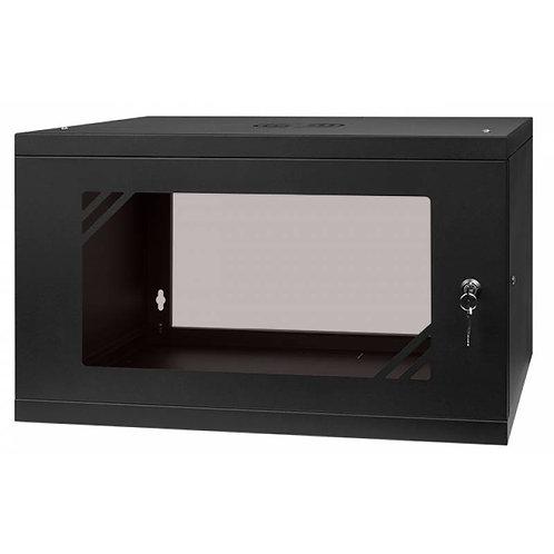 """Racki kapp seina """"Cabinet 19"""" 6U, 450MM Glass Door"""""""