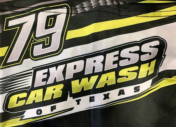 Express Car Wash Face Mask