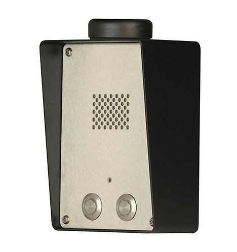 Juhtmevaba GSM fonosüsteem kahe nupuga SOLO-NX 2/S INOX