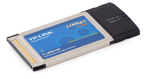 TP Link 54M Wireless CardBus Adapter with eXtended RangeTM