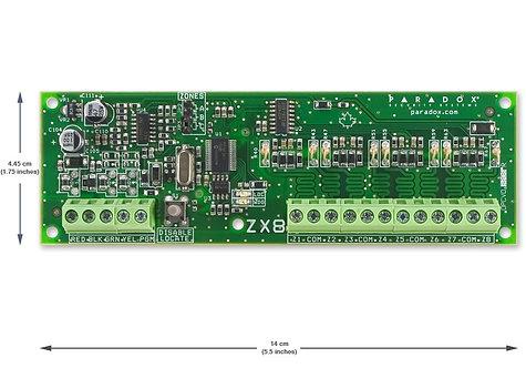 Paradox ZX8SP Laiendusmoodul 8 tsooniline