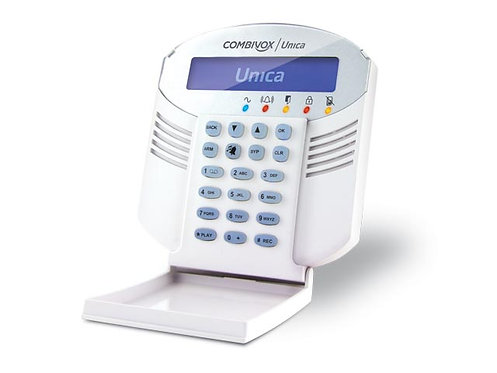 Combivox Unica LCD klaviatuur