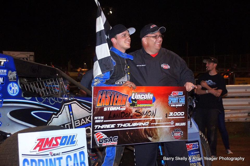 Landon Simon Wins at Grandview!