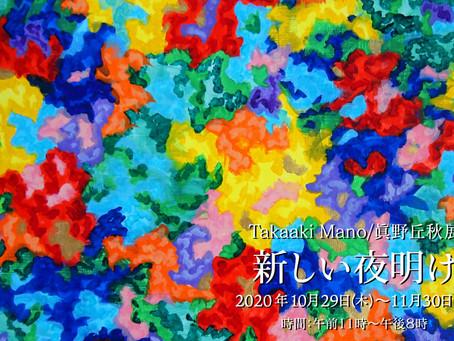 Takaaki Mano/眞野丘秋展