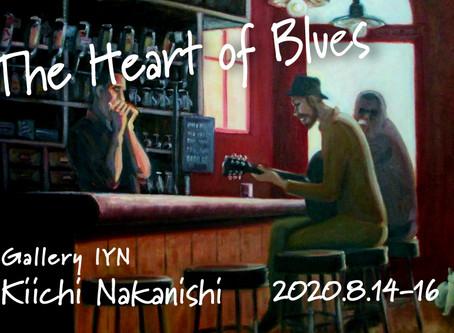 中西きいち「The Heart of Blues」