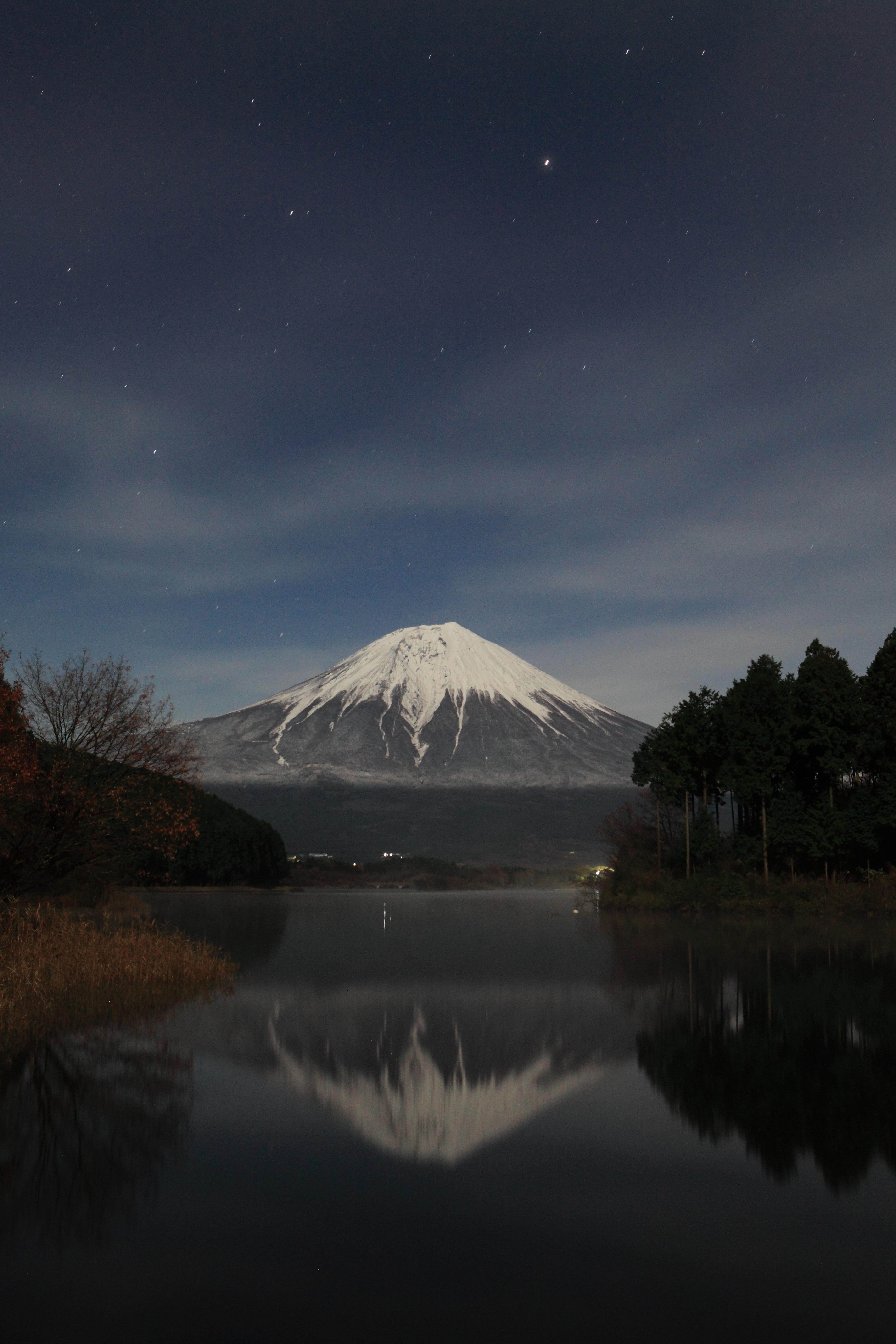 田貫湖の富士山