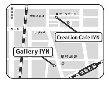 GalleryIYN 地図