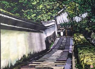 深緑の善峰寺