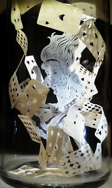 """Alice in a bottleⅡ  """"Nothing but cards!"""""""