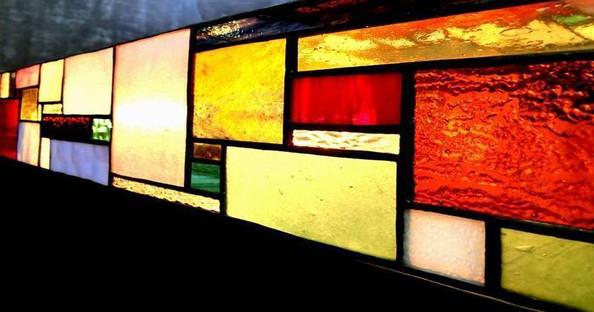 窓パネルの製作例